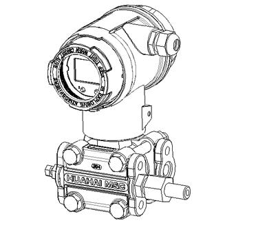 智能差压变送器焊管接头连接