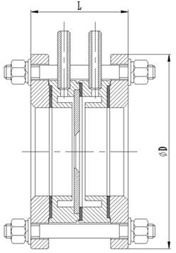 孔板流量計產品外形尺寸