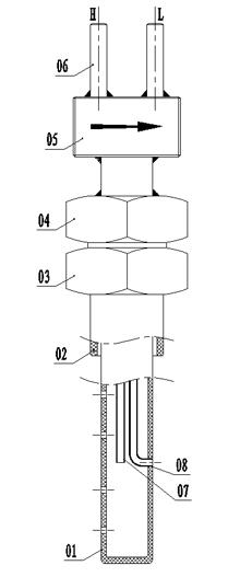 笛型匀速管结构组成