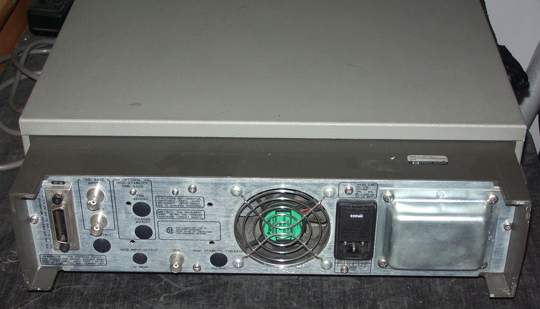 函数信号发生器的结构