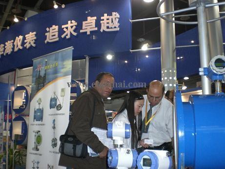 外国客户对我公司的产品兴趣很浓_流量计,智能电磁计