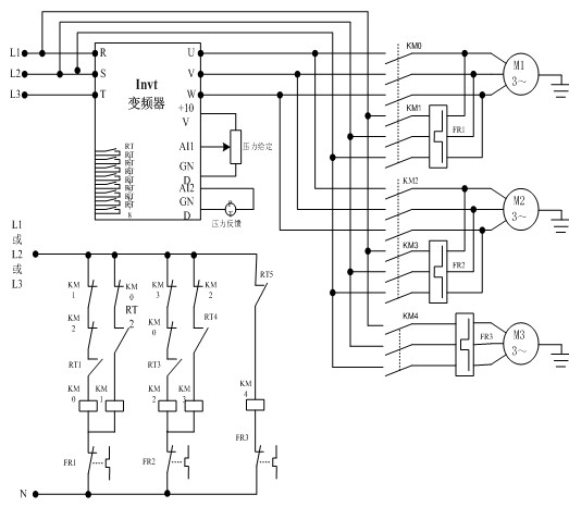 英威腾chv160供水专用变频器在供水行业的应用