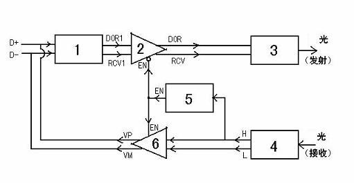 是另外一个光电隔离器的光敏三极管及其信号放大电路
