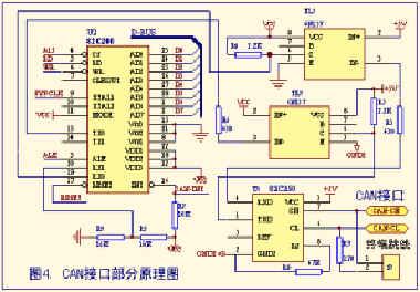 can-bus 测试电路图